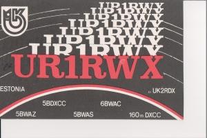 UR1RWX Front
